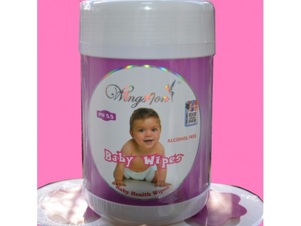 BABY HEALH WIPERS  72+8 SHEETS